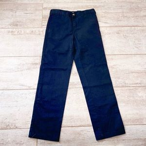 Dickies BLACK boys size 12 pants with pockets